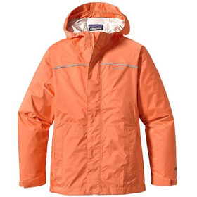 Patagonia Girls Torrentshell Jacket Peach Sherbet